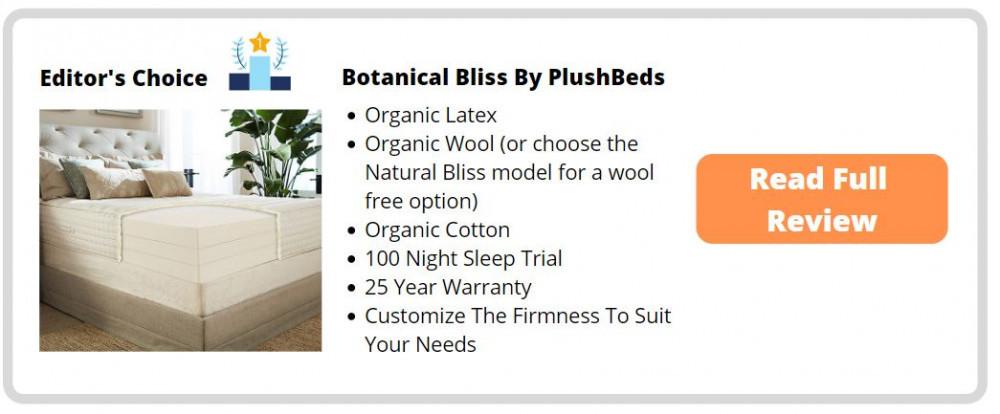 PlushBeds Hypoallergenic Mattress