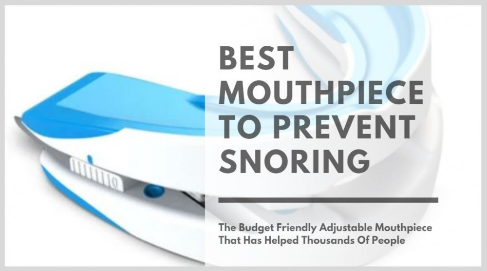 Mouthpiece To Prevent Snoring - Cover Image