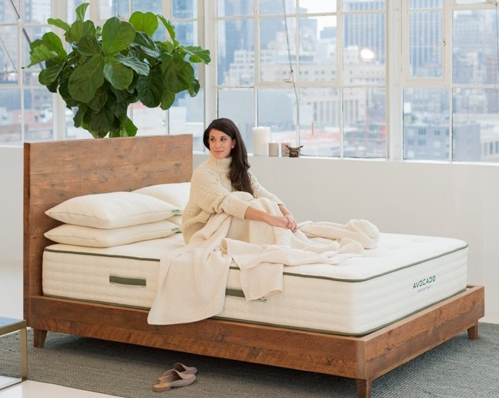avocado hybrid latex mattress