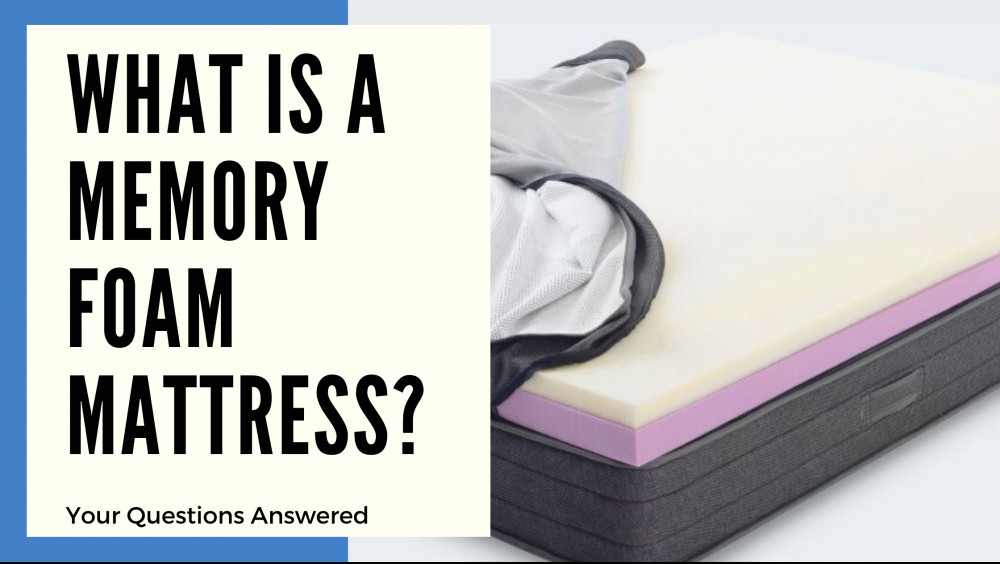 What Is A Memory Foam Mattress - Cover Image