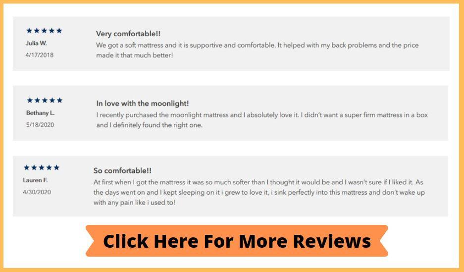 Helix Moonlight Mattress Review - Read More Reviews Button