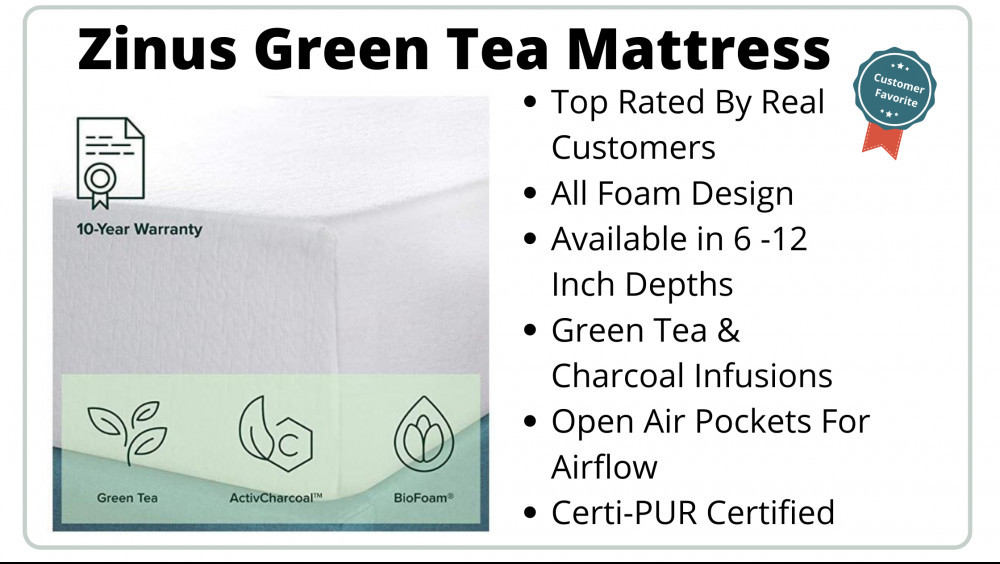 Best Zinus Mattress - Green Tea Is Customer Favorite