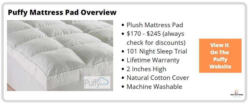 Puffy Mattress Pad - Cover Image