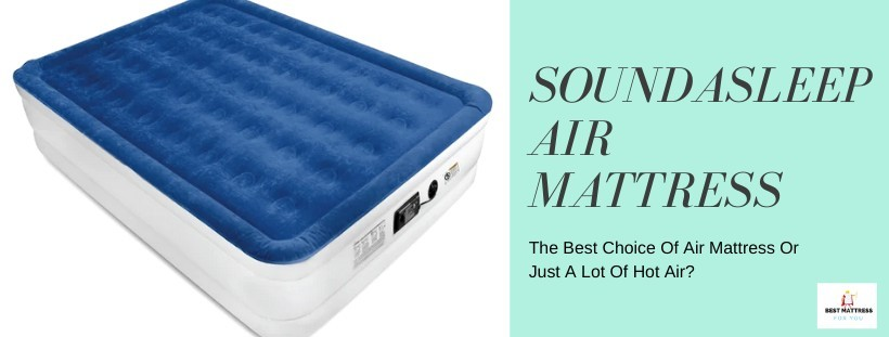 SoundAsleep Air Mattress Title Image