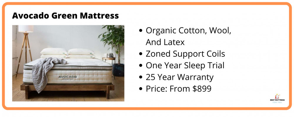 What Is The Best Cooling Mattress - Avocado Information