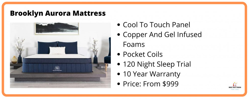 Brooklyn Aurora Mattress Information