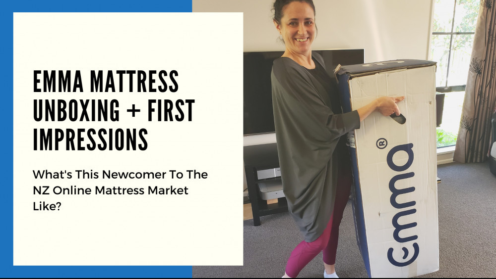 Emma Mattress Unboxing And First Impressions