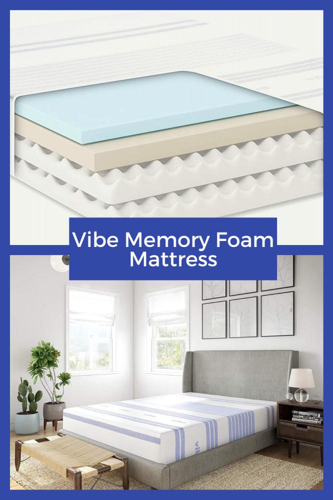 Vibe Memory Foam Mattress Features
