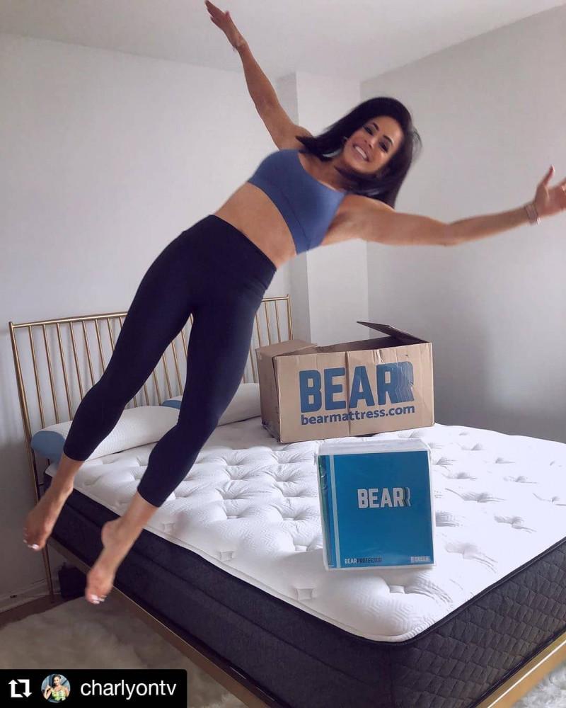 Bear Hybrid Mattress Review - Real Set Up