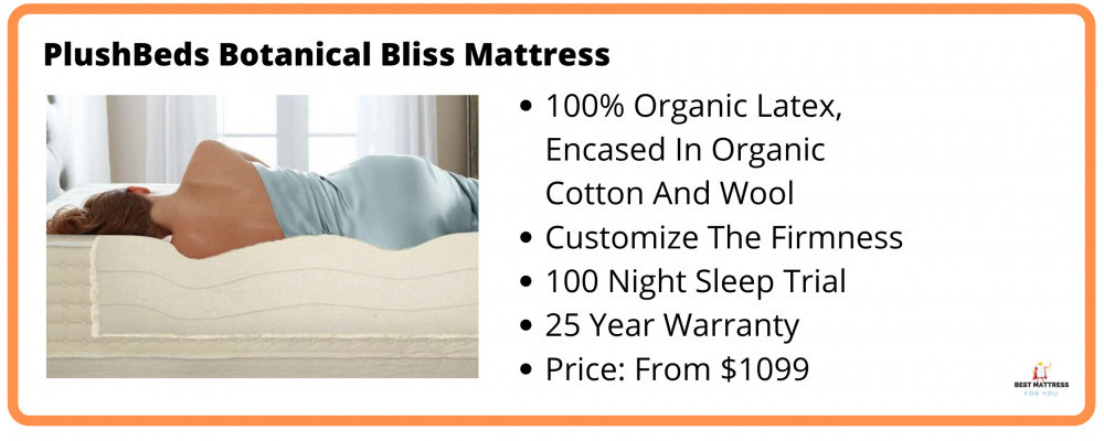 Best Cooling Latex Mattress - PlushBeds