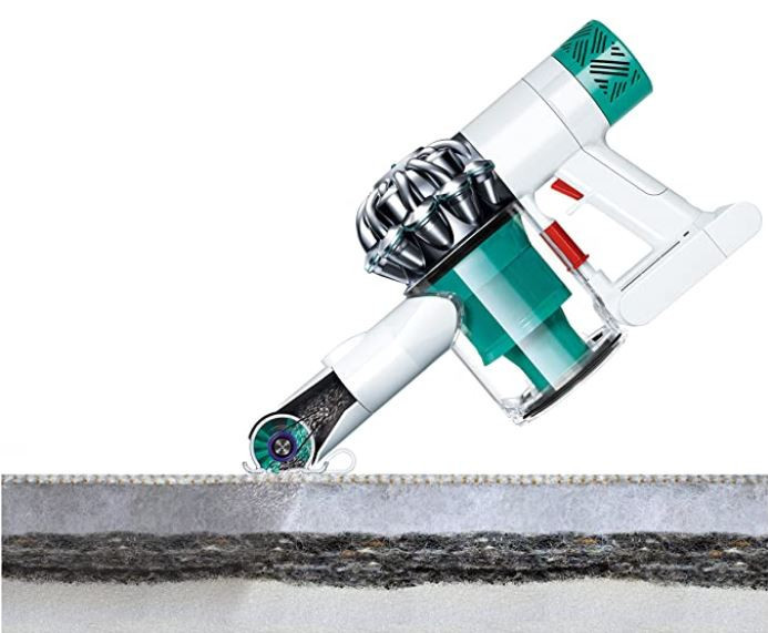 Dyson Mattress Vacuum In Action