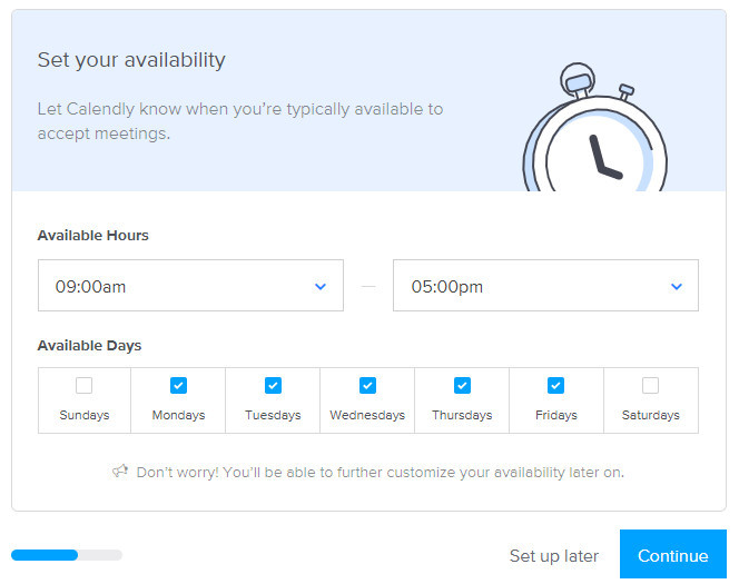 calendly availability