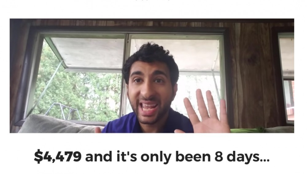 guy claims to have made $4,479 in 8 days