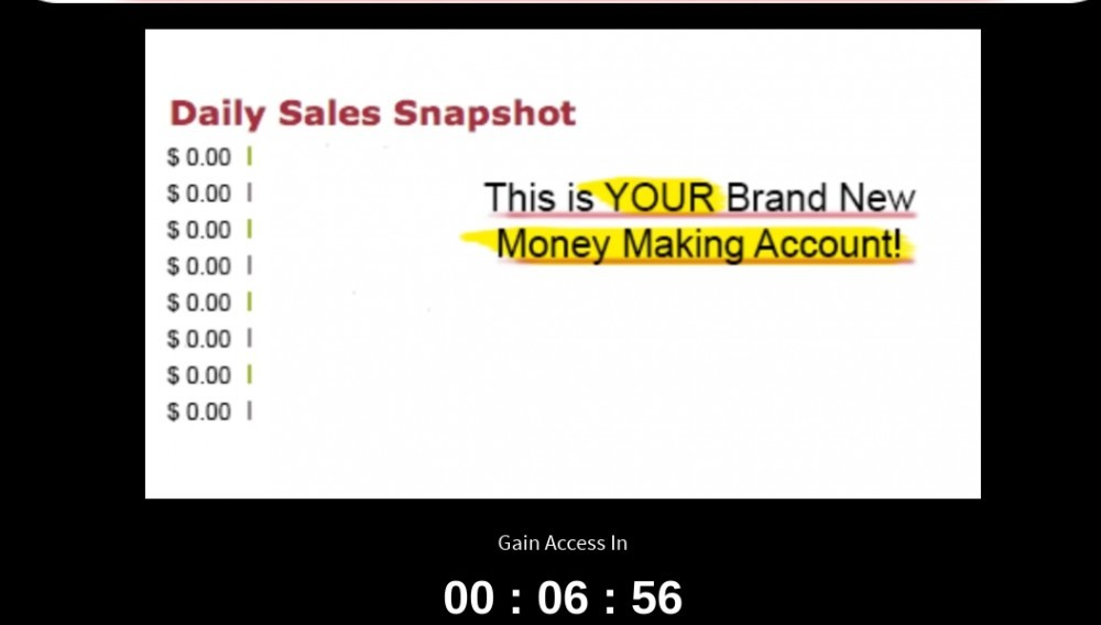 your dream websites sales video