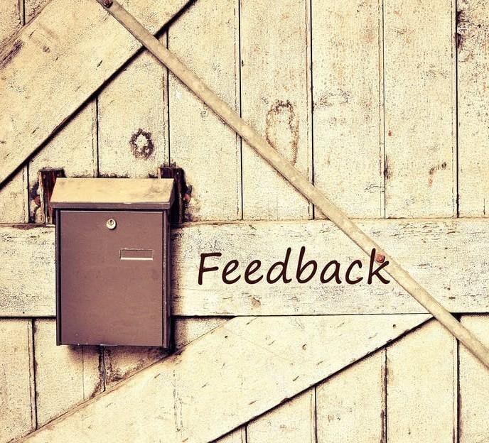 Constructive Criticism Feedback