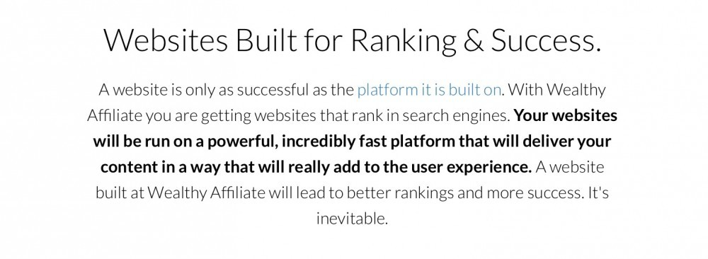 Websites Built for Ranking & Success - Google, Bing and Yahoo