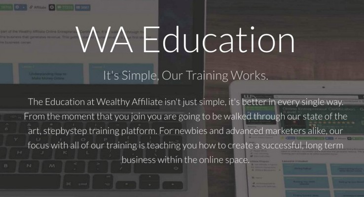 WA Education Wealthy Affiliate Training