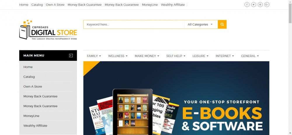 ClickBank Digital Store