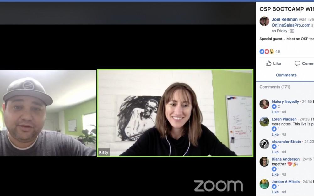 Joel & Kitty Kellman Zoom OSP Bootcamp