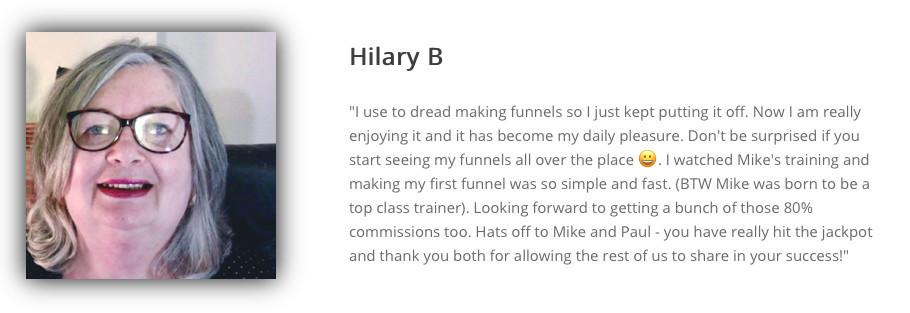 HBA funnel builder