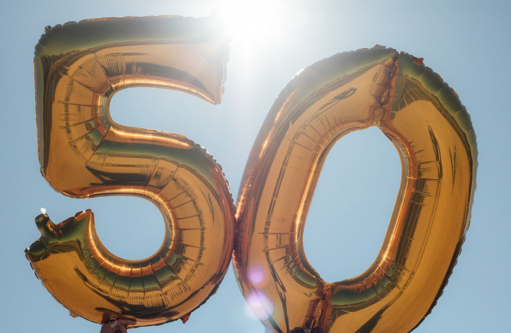 the benefits of turning 50