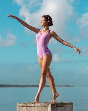 perfect ballerina body