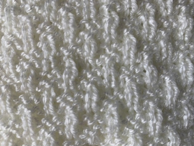 knit a baby blanket