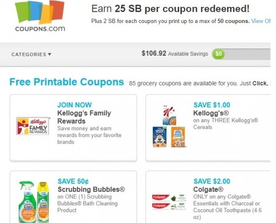 Earn Money From Redeeming Grocery Coupons