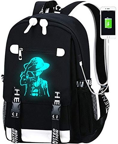 luminous luffy backpack front