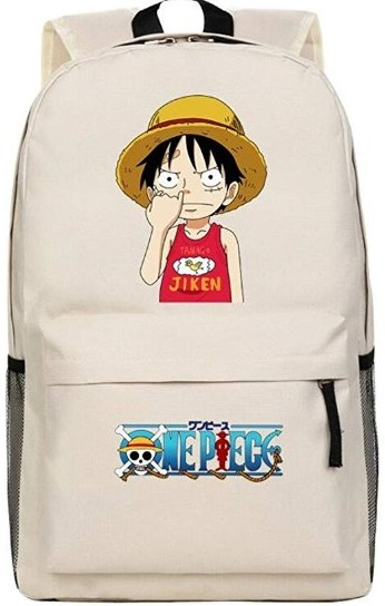 luffy picking nose backpack