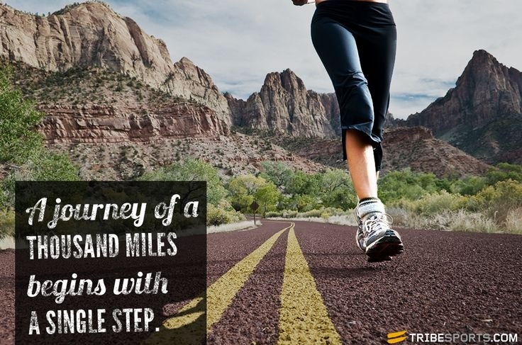 a journey of thousand miles starts A journey of a thousand miles begins with a single step (chinese: 千里之行,始於足下 pinyin: qiānlǐ zhī xíng, shǐyú zú xià literally: a journey of a thousand li starts beneath one's feet) is a common saying that originated from a famous chinese proverb.