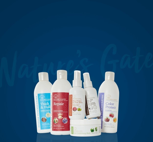 Natures Gate All Natural Hair Care Sale