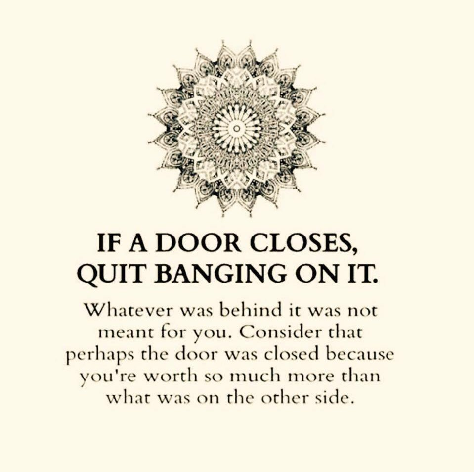 Quote When One Door Closes Another Opens: One Door Closes, Another Opens