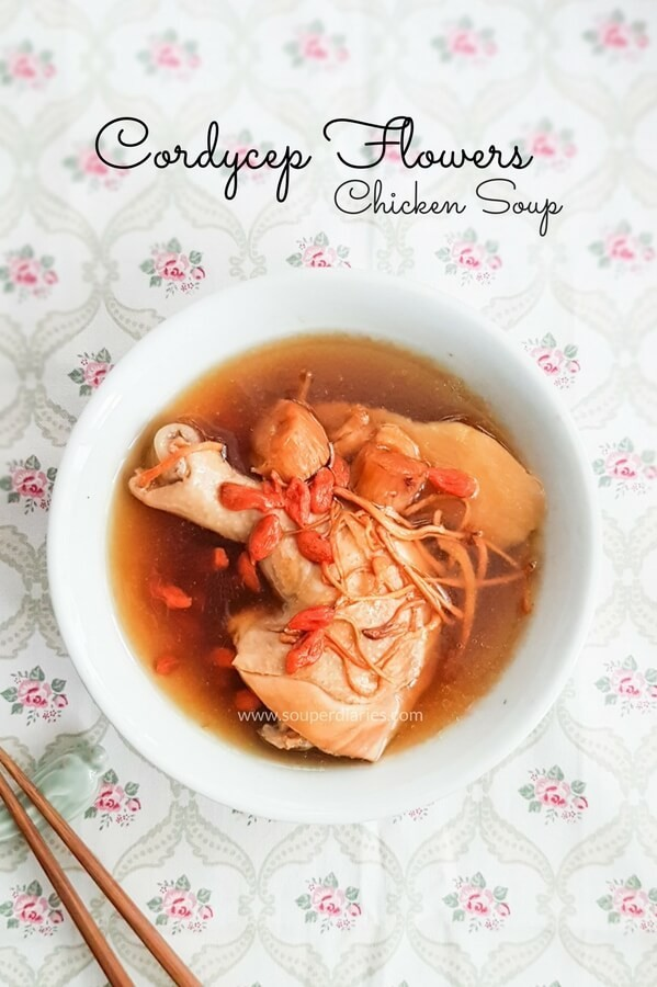Cordyceps flower chicken soup
