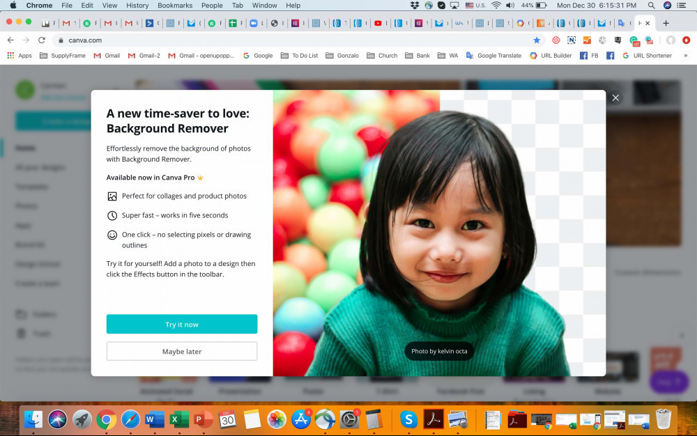 Canva Background Remover New Feature