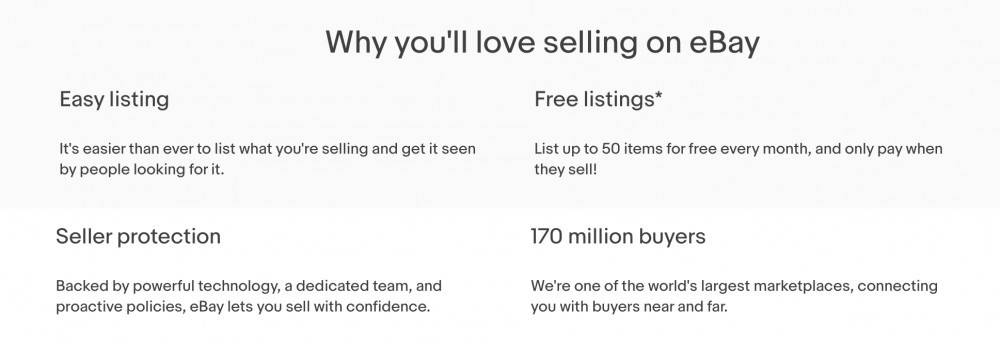 Why You'll love selling on ebay