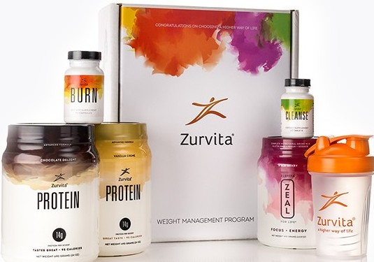 The Zurvita Complete Product Range