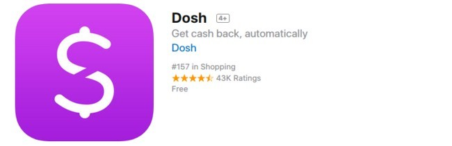 dosh app apple review