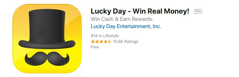 lucky day good reviews app store