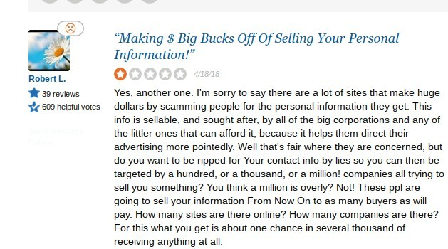 pinch me sell your information