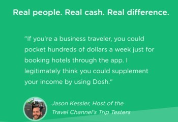 dosh app hotels travel