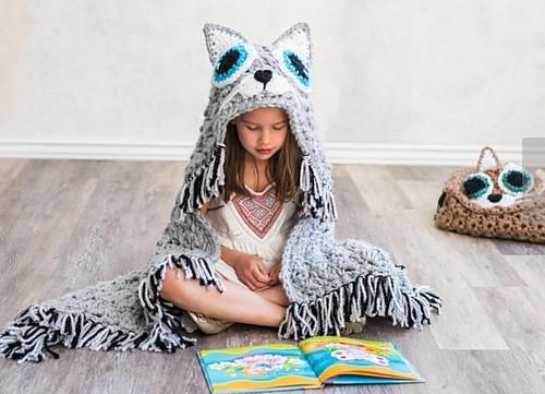 beautiful cat blanket crochet.