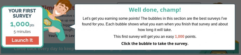 surveyclub 1000 points survey