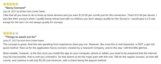 is savvy connect legit review