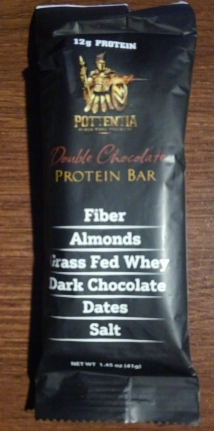 Pottentia Double Chocolate Protein Bar
