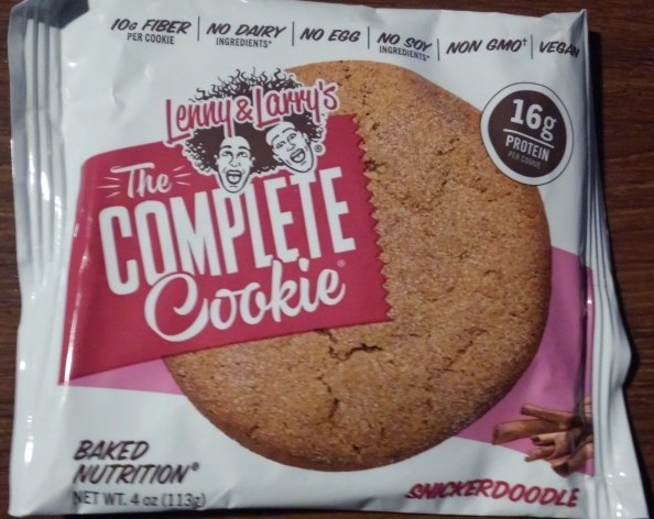 Lenny & Larry's Snickerdoodle Complete Cookie