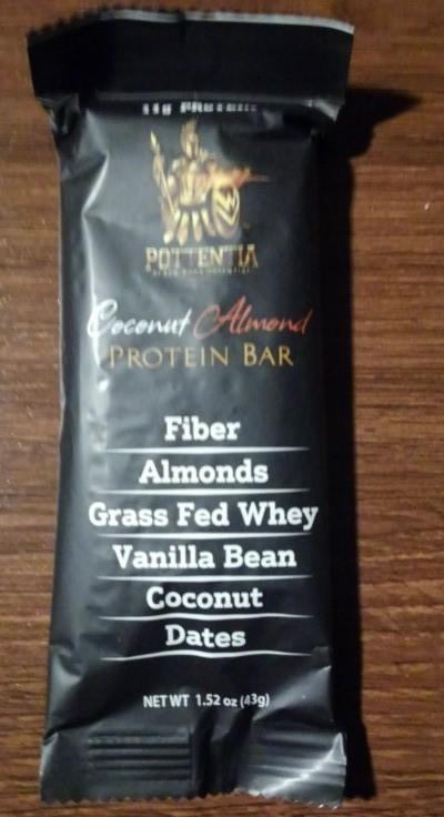 Pottentia Coconut Almond Protein Bar