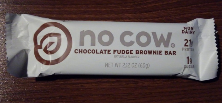 No Cow Chocolate Fudge Brownie Protein Bar