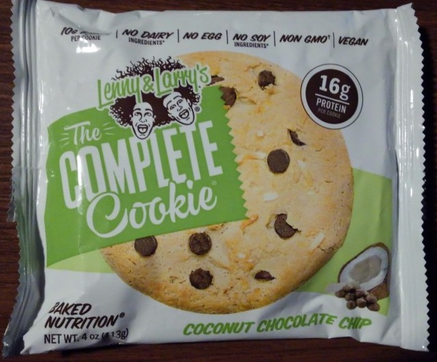 Lenny & Larry's Coconut Chocolate Chip Complete Cookie