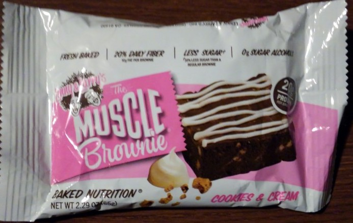 Lenny & Larry's Cookies & Cream Muscle Brownie